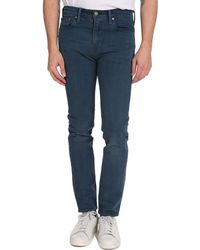 Levi's Blue Grey Skinny Fit 510 Jeans - Lyst