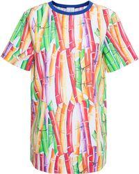Stella Jean Bamboo Print Top - Lyst
