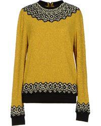 Manish Arora Jumper yellow - Lyst