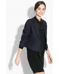 Mango Cotton Cropped Jacket - Lyst