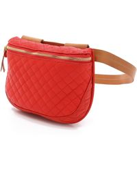 Clare V. - Quilted Supreme Fanny Pack - Poppy - Lyst