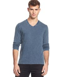 Guess Waffle-knit Graphic T-shirt - Lyst