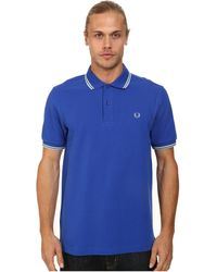 Fred Perry Twin Tipped Polo - Lyst