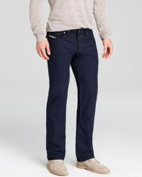 Diesel Jeans  Safado Slim Straight Fit in Herringbone Twill - Lyst