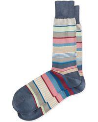 Paul Smith Bold Stripe Socks - Lyst