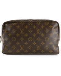 Louis Vuitton Monogram Trousse 28 Pouch - Lyst