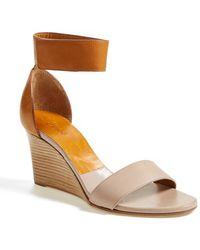 Chloé 'Gala' Wedge Sandal - Lyst