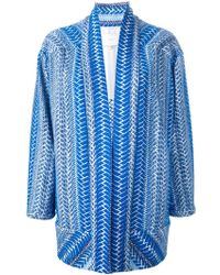 IRO 'Otomar' Tribal Embroidery Jacket blue - Lyst