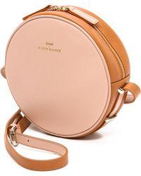 Karen Walker Marion Mini Round Bag  Bubbletan - Lyst