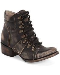 Freebird by Steven | 'gage' Lace-up Bootie | Lyst