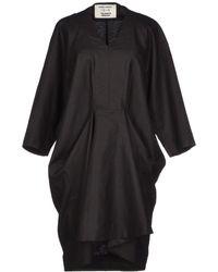 Henrik Vibskov Short Dress black - Lyst