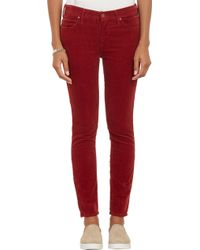 Mother Corduroy The Muse Ankle Jeans - Lyst