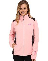 The North Face Pink Ribbon Khumbu 2 Jacket - Lyst