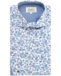 Ted Baker Pluton Regular Fit Double Cuff Jacquard Shirt - Lyst