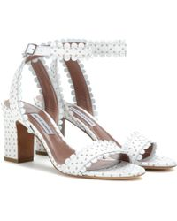 Tabitha Simmons Leticia Leather Sandals - Lyst