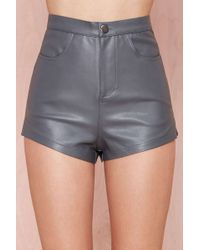 Nasty Gal Bailey Shorts - Lyst