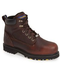 Goodyear - 'daytona S' Leather Boot - Lyst