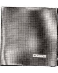 Ralph Lauren Black Label - Houndstooth Pocket Square - Lyst
