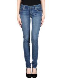 Cheap Monday Denim Pants blue - Lyst