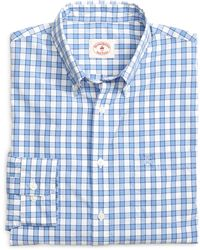 Brooks Brothers Check Sport Shirt - Lyst