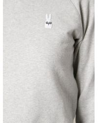 Peter Jensen Embroidered Logo At The Chest Sweatshirt - Lyst