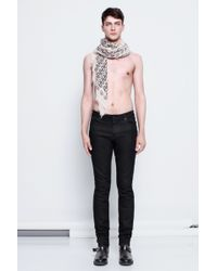 Zadig & Voltaire Man Jeans Strokes Noir - Lyst