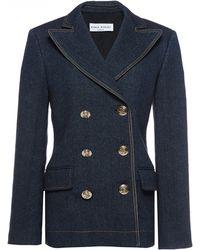 Sonia Rykiel Winter Denim Jacket - Lyst