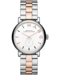 Marc By Marc Jacobs 36mm Baker Analog Watch with Bracelet Strap - Lyst