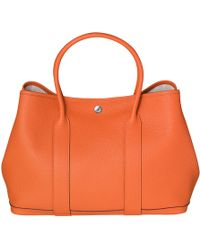 Hermes Orange Garden Party - Lyst