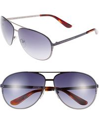 Marc By Marc Jacobs 62Mm Aviator Sunglasses - Lyst