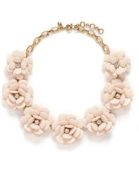 J.Crew | Beaded Rose Necklace | Lyst