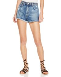 Tularosa - Emma High-rise Braided-waist Shorts - Lyst
