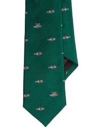 Band of Outsiders - Delorean Car Jacquard Neck Tie - Lyst