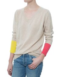 Chinti & Parker V Neck Sweater - Lyst