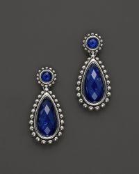 Lagos Lapis Doublet Drop Earrings - Lyst