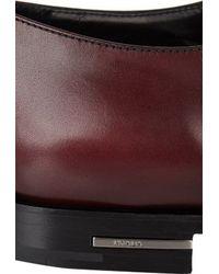 Prada Brown Plain-toe Bluchers - Lyst