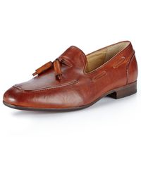 H By Hudson Pierre Tassei Leather Loafer Shoes - Lyst
