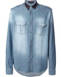 Iro Amar Denim Shirt - Lyst