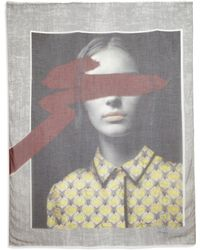 Yigal Azrouël | Blushing Pale Modal & Cashmere Scarf | Lyst