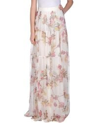 Giambattista Valli Long Skirt - Lyst