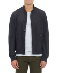 Paul Smith Coated Cotton Bomber Jacket - Lyst