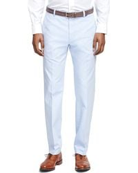 Brooks Brothers Milano Fit Oxford Chinos - Lyst