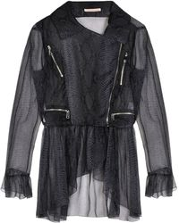 Christopher Kane Gray Jacket - Lyst