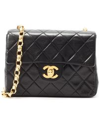 Chanel Pre-Owned Mini Classic Flap - Lyst