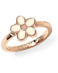 Marc By Marc Jacobs Enamel Daisy Ring - Lyst