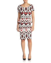 Alice By Temperley | Bold-print Peplum Dress | Lyst