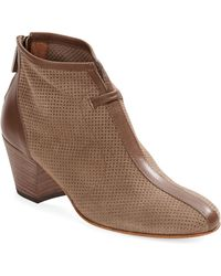 Aquatalia by Marvin K Flirt Suede Ankle Boots - Lyst