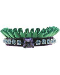 Velvet Eccentric - Emerald Style - Lyst