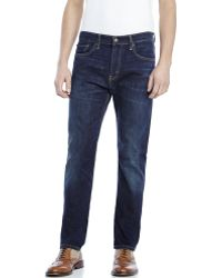 Levi's Dark Wash 508 Regular Taper Fit Jeans - Lyst
