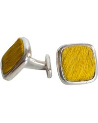 Isabel Englebert - Yellow Dandy Cufflinks - Lyst